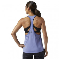 Tank Top Women Reebok Wor Graphic Mesh Tank