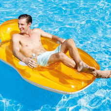 Inflatable Chair for Pool Intex (163 x 104 cm)
