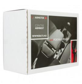 Подлакътници Armster 208 2012- PEUGEOT Черен