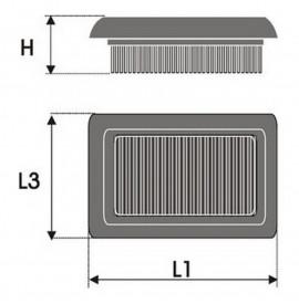 Въздушен филтър Green Filters P965019