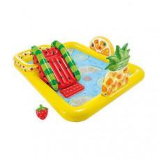 Inflatable Paddling Pool for Children Intex (244 x 191 x 91 cm) (493 L)