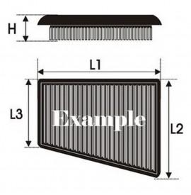 Въздушен филтър Green Filters P950337