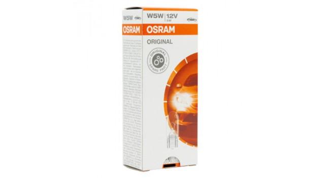 Крушка за Кола Osram 2825 12V 5W W5W (10 pcs)