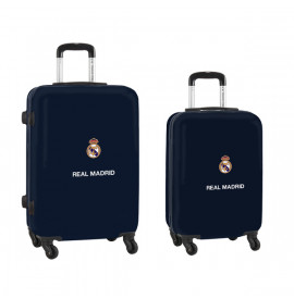 Куфар за каюта Real Madrid C.F. Морско син 20''/24'' (2 pcs)