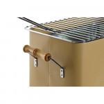 Портативно барбекю DKD Home Decor Glamping Метал (30 x 22 x 22 cm)