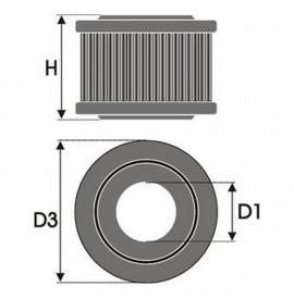 Въздушен филтър Green Filters R153659