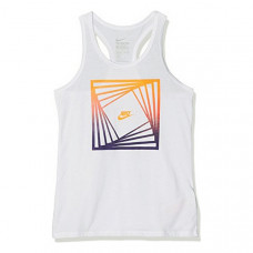 Tank Top Women Nike (Talla XL) Бял
