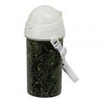 Бутилка за вода BlackFit8 Topography Черен (500 ml)