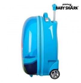 Количка Baby Shark 16'' Светло син