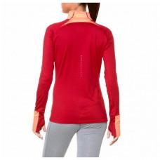 Дамска тениска с дълъг ръкав Asics LS Winter 1/2 Zip Корал (размер l - us)