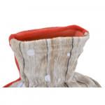 Термо възглавничка DKD Home Decor Коледа полиестер Гума 1 L (2 pcs) (16 x 3 x 26.5 cm)