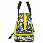 Чанта за Обяд Minions Жълт Бял Черен (15 L)