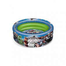 Inflatable Paddling Pool for Children The Avengers (Ø 100 cm)