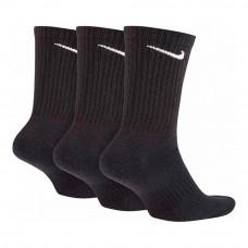 Спортни Чорапи Nike  EVERYDAY CUSHIONED SX7664 Черен Найлон (3 pcs)