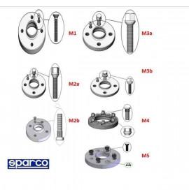 Разделители Sparco  5x112 66,5 M12 x 1,50 25 mm M5