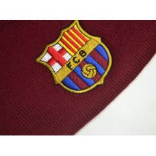 Зимна шапка Barcelona Maroon Knitted Beanie
