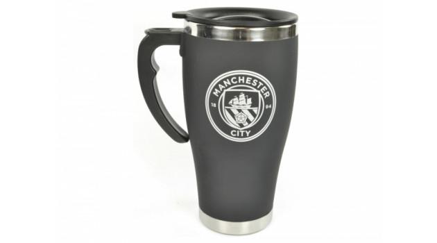 Чаша MAN CITY  Foil Print Travel Mug